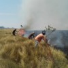 Successful firefighting at Barba Azul Nature Reserve